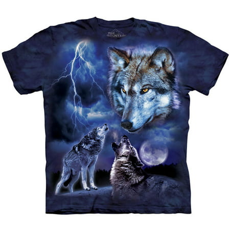 Storm Sheer T-shirt (The Mountain Men's  Wolves Of The Storm T-shirt)