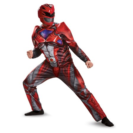 Power Rangers: Red Ranger Muscle Adult (40's 50's Costumes)