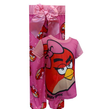 Angry Birds Pretty In Pink SS Pajamas - Angry Birds Outfit