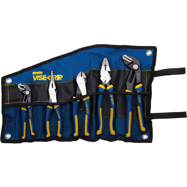 Irwin Vise-Grip ProPlier 5-Piece Kitbag Pliers Set by Irwin Tools