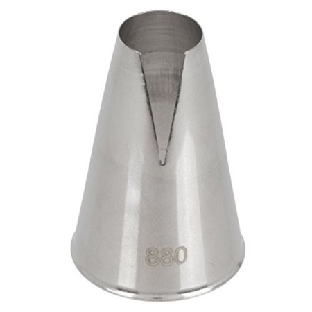 Ateco 880 Nickel Plated Steel St. Honore Cake Decorating Tube