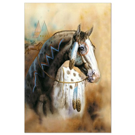 Horse Stationery (Tree-Free Greetings Spirit Horse Boxed ECOnotes Blank Note Cards-FS56288)
