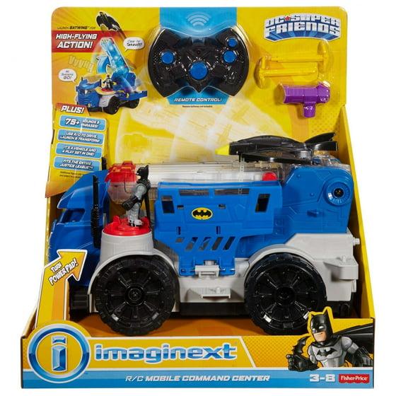 Imaginext DC Super Friends RC Mobile Command Center Vehicle