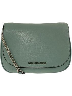 c44ec78fa22a0 Product Image Michael Kors Women s Medium Bedford Leather Saddle Bag Leather  Cross-Body Satchel