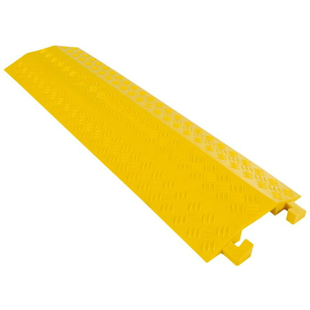High Traffic Pedestrian Light Equipment Drop-Over Cable Cover Ramp