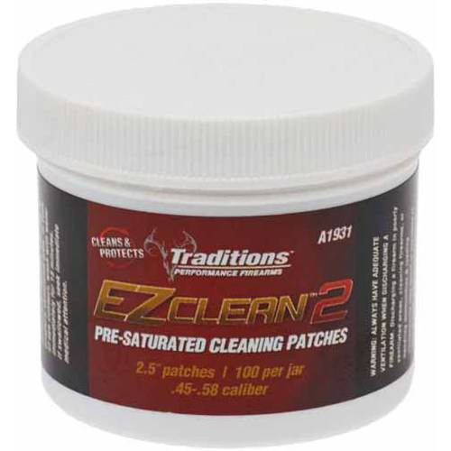 Traditions Performance Firearms EZ Clean 2 Pre-Saturated Cleaning Patches
