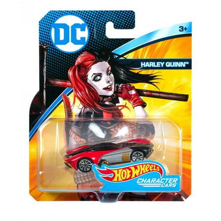 Hot Wheels DC Universe Harley Quinn Character Car
