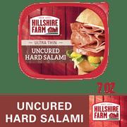 Hillshire Farm Ultra Thin Sliced Deli Lunch Meat, Uncured Hard Salami, 7 oz