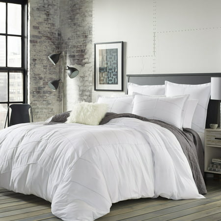 City Scene Courtney White Comforter Set, Full/Queen - City Scene