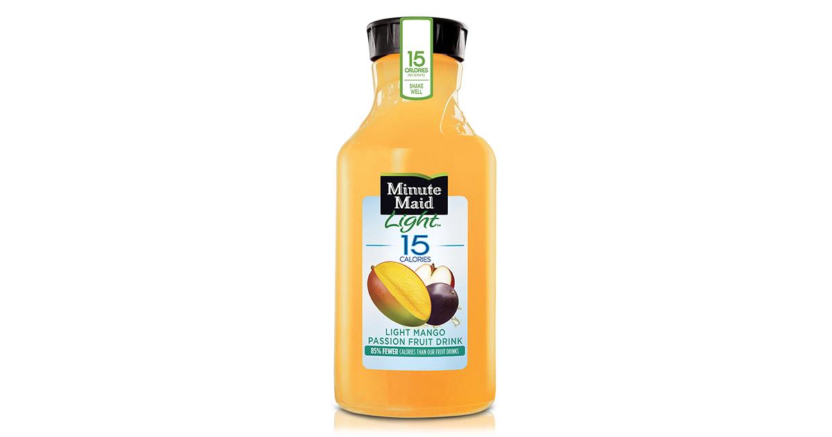 Minute Maid Light Mango Passion Fruit Drink, 59 Oz   Walmart.com