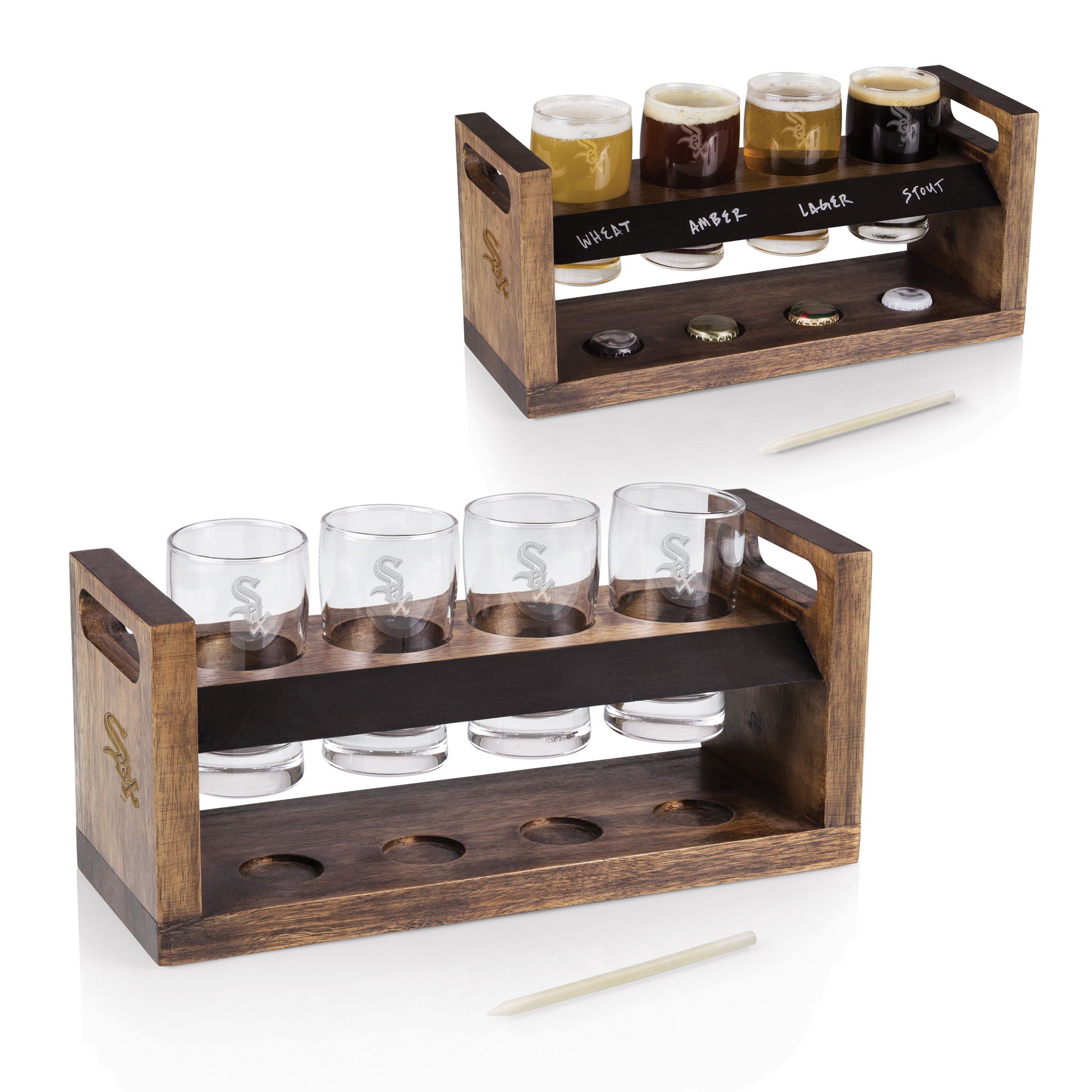 Chicago White Sox Craft Beer Flight - Brown - No Size