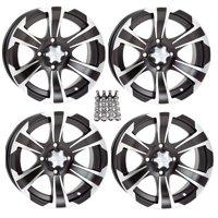 "ITP SS312 ATV Wheels/Rims Black 12"" Honda Foreman Rancher SRA"