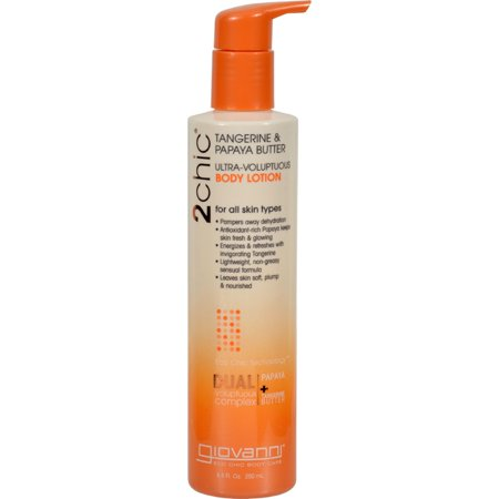 Giovanni Lotion (Giovanni Hair Care Products 2chic Body Lotion - Ultra-Volupt - 8.5 fl oz)
