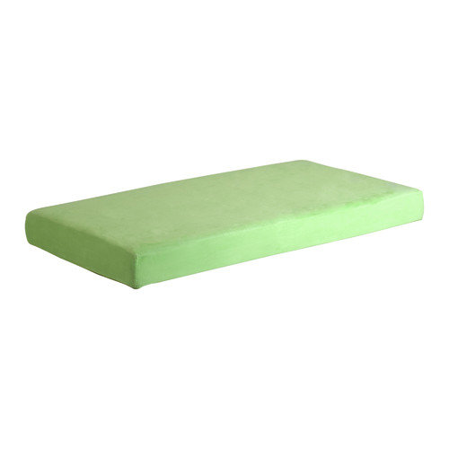 Memory Foam Kidz 8'' Kid's Memory Foam Mattress with Water Proof Cover in Green