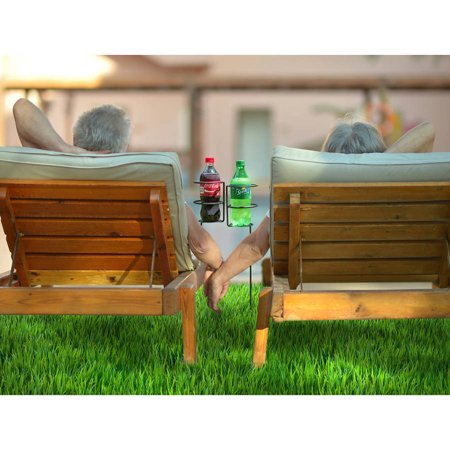 Sorbus Outdoor Beverage Heavy Duty Drink Holder Stakes, Set of 4 (Outdoor Drink Holders)