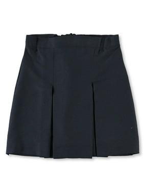"Cookie's Brand Big Girls' Plus ""3"" Box Pleat Skirt - black, 18.5"