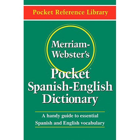 Merriam-Webster's Pocket Spanish-English Dictionary ()