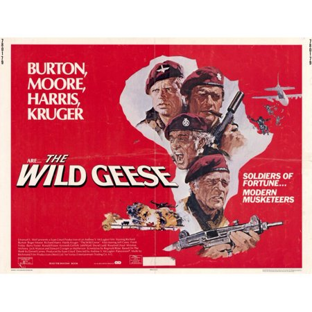 The Wild Geese - movie POSTER (Style A) (11