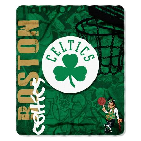 Boston Celtics Fade Away Fleece Throw