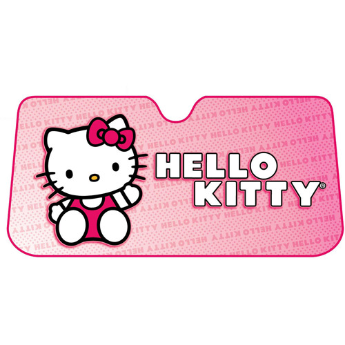Hello Kitty Core Bow Accordion Bubble Sunshade