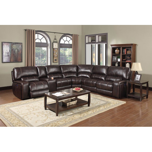 emotion furniture murcia reclining sectional
