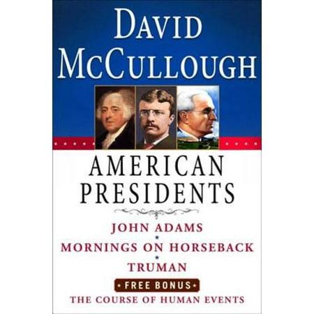 David McCullough American Presidents E-Book Box Set - eBook
