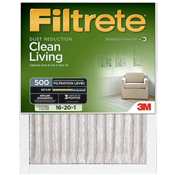 3M Filtrete Clean Living Furnace Filter by 3M