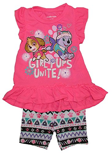 Nickelodeon Paw Patrol Baby Girls Tutu Dress and Tights
