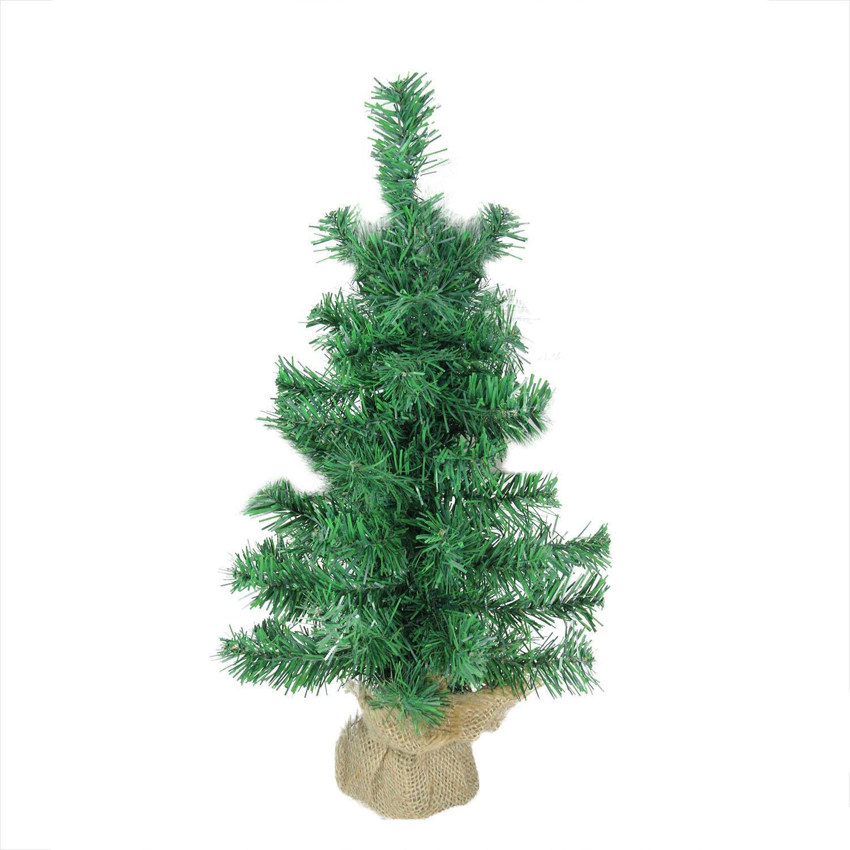 Northlight 18 in. Mixed Green Pine Unlit Medium Tabletop Christmas Tree