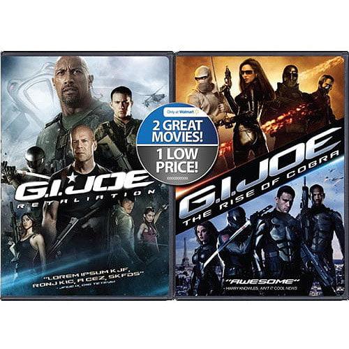 G.I. Joe: Retaliation / G.I. Joe: The Rise Of Cobra (2-Pack) (Walmart Exclusive) (With INSTAWATCH) (Widescreen, WALMART EXCLUSIVE)