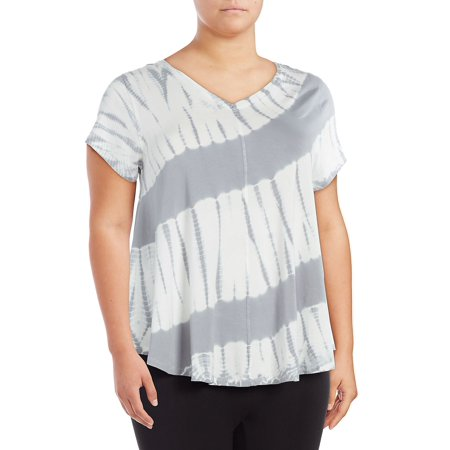 Calvin Klein Performance Womens Plus Fitness Running T-Shirt