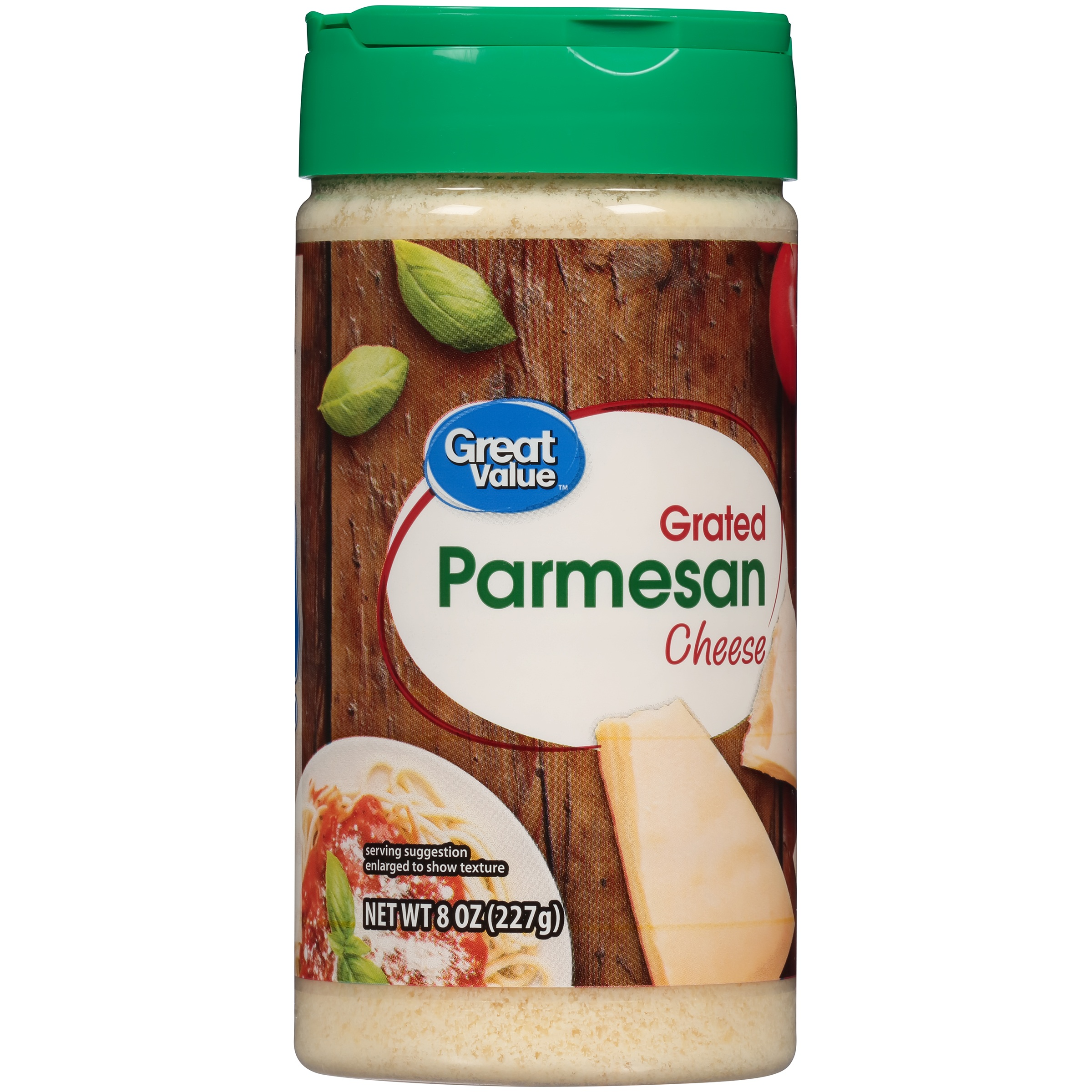 Great Value Grated Parmesan Cheese, 8 oz by Wal-Mart Stores, Inc.