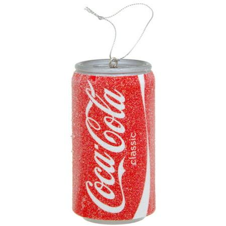 classic coca cola coke soda pop can christmas ornament