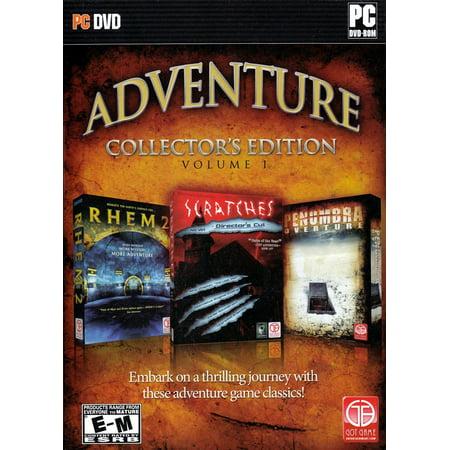 Adventure Collector's Edtion - Set of 3 PC Games -  Rhem 2 + Scratches Director's Cut +  Penumbra Overture (Mafia 2 Directors Cut)