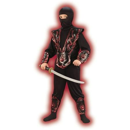Fun World Ninja Fighter Child Halloween Costume - Cheap Ninja Costume