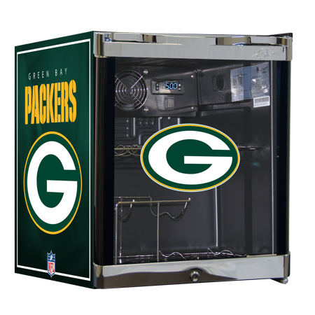 NFL Wine Cooler 1.8 cu ft- Green Bay Packers