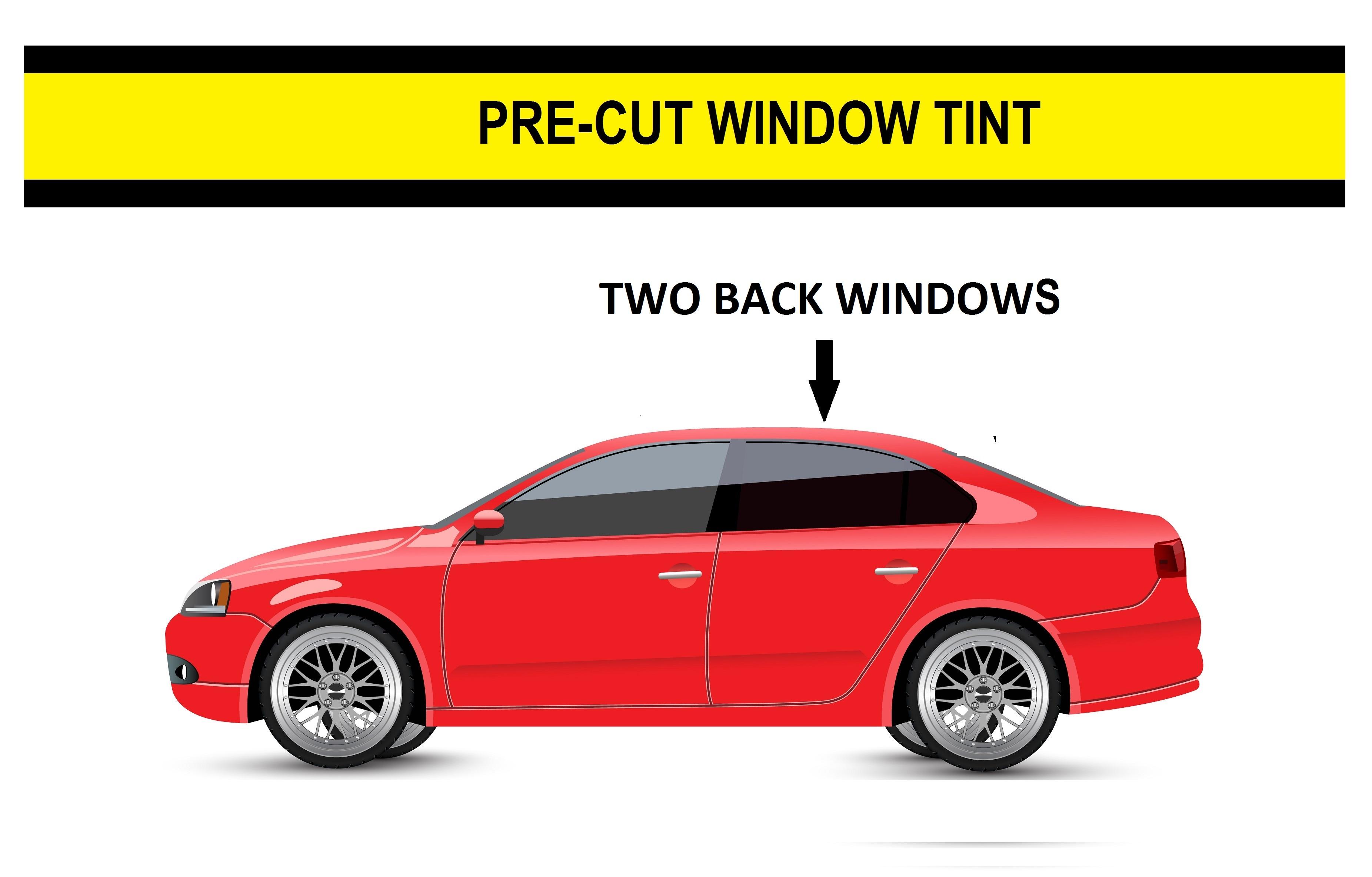 All Windows Any Shade Precut Window Tint for Mercedes ML320 98-02