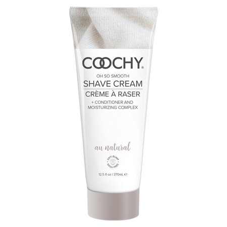 Coochy Oh So Smooth Shave Cream - Au Natural - 12.5 oz