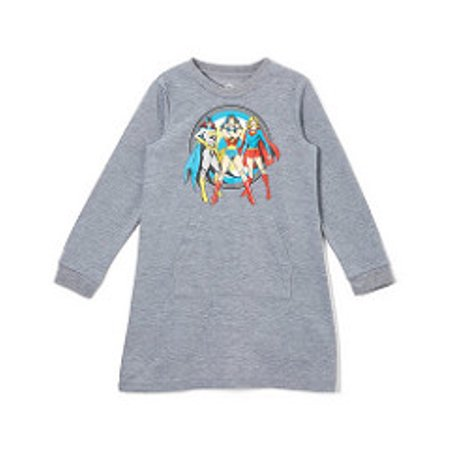 DC Comics Girls 'Wonder Woman , Supergirl and Batgirl Superhero' Cozy Pajama Nightgown - Superhero Nightgown