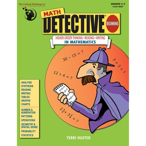 Math Detective Beginning Book