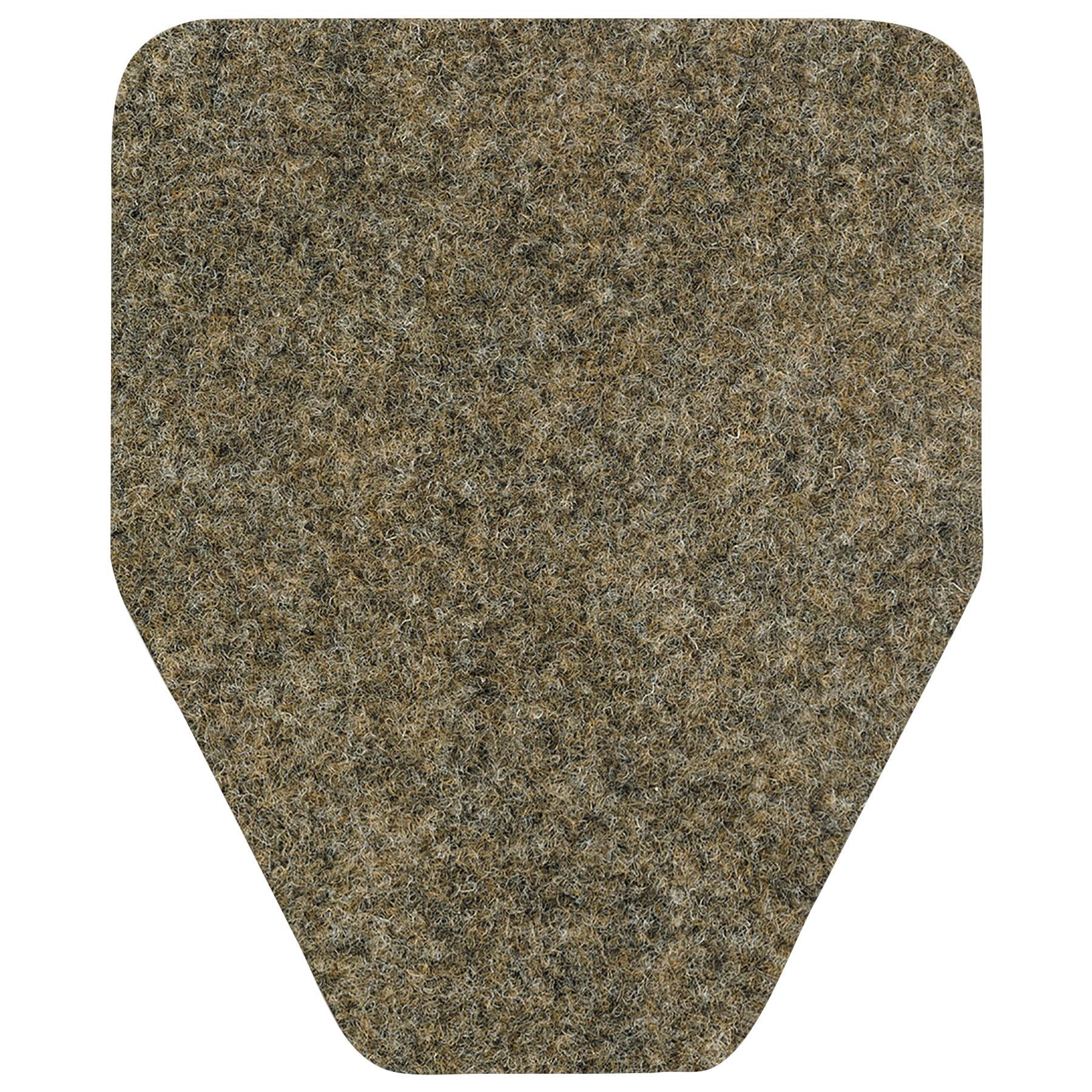WizKid Brown Antimicrobial Floor Mats 48 count Walmartcom