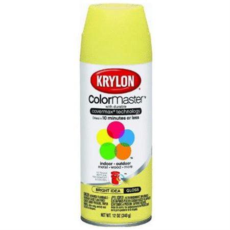 Colormaster Indoor/Outdoor Aerosol Paint 12oz-Gloss Bright - Uv Paint Ideas