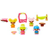 Lalaloopsy Tinies Blossom's Garden Party Dolls 10 ct Pack