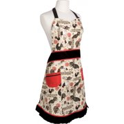 Now Designs Betty Rustic Roosters Apron