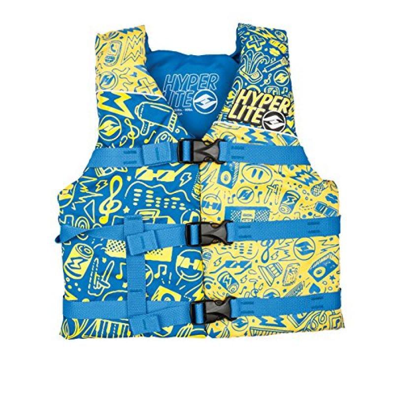 Hyperlite Unite Youth CGA Wakeboard Vest Kids Sz Youth (5...