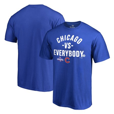 Chicago Cubs 2016 World Series Champions Vs. Everybody T-Shirt - Royal