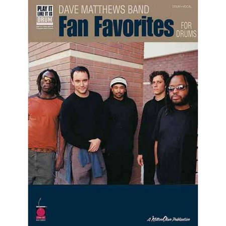 Dave Matthews Band Fan Favorites for Drums by