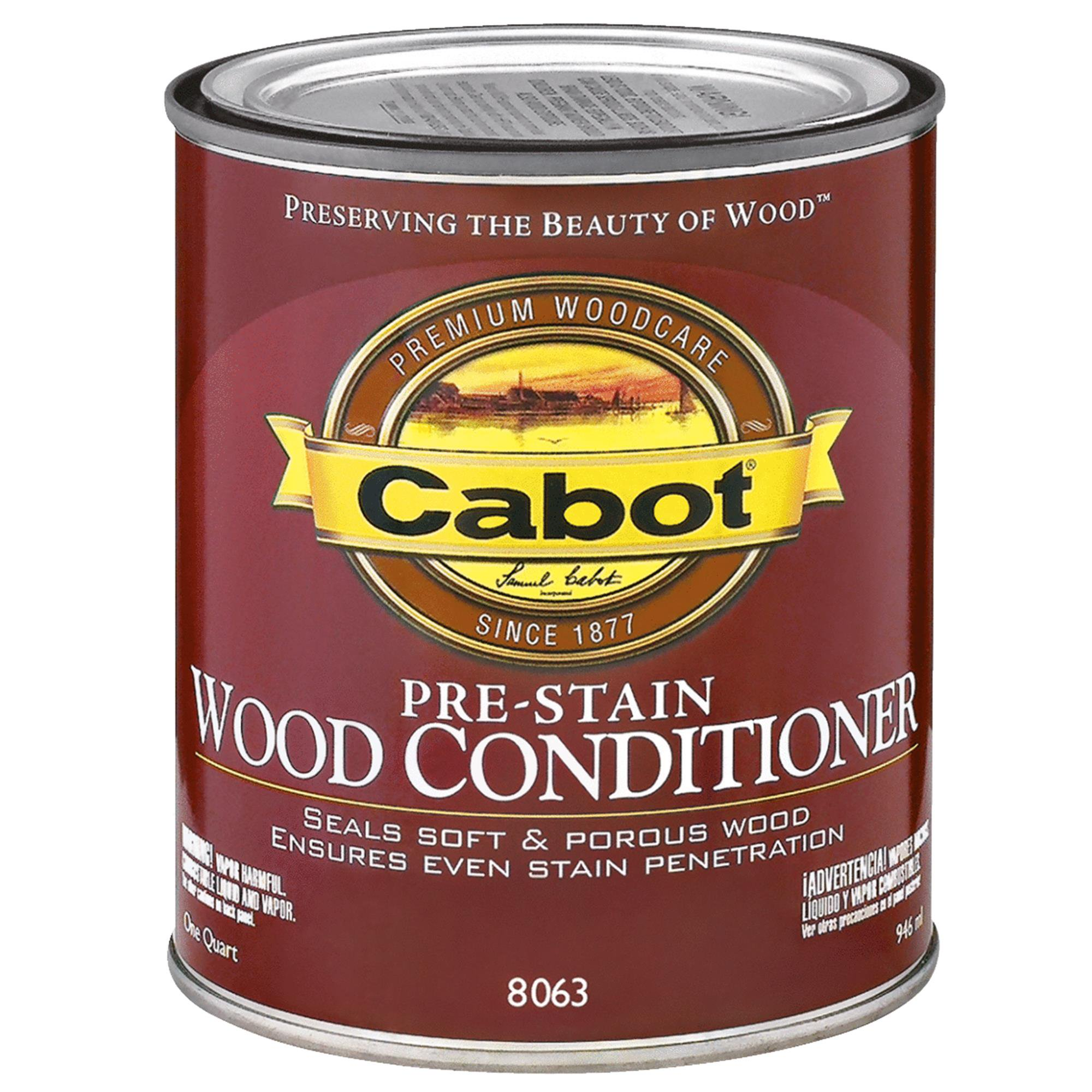 Cabot Pre-Stain Wood Conditioner