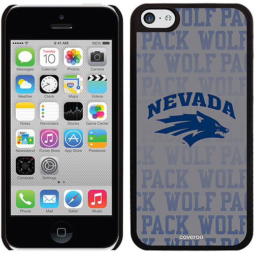 UNR Repeating Design on iPhone 5c Thinshield Snap-On Case by Coveroo
