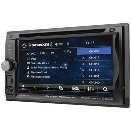 6.2 in. Double Din Receiver with Bluetooth SXM Interface & Detachable Faceplate - image 1 of 1
